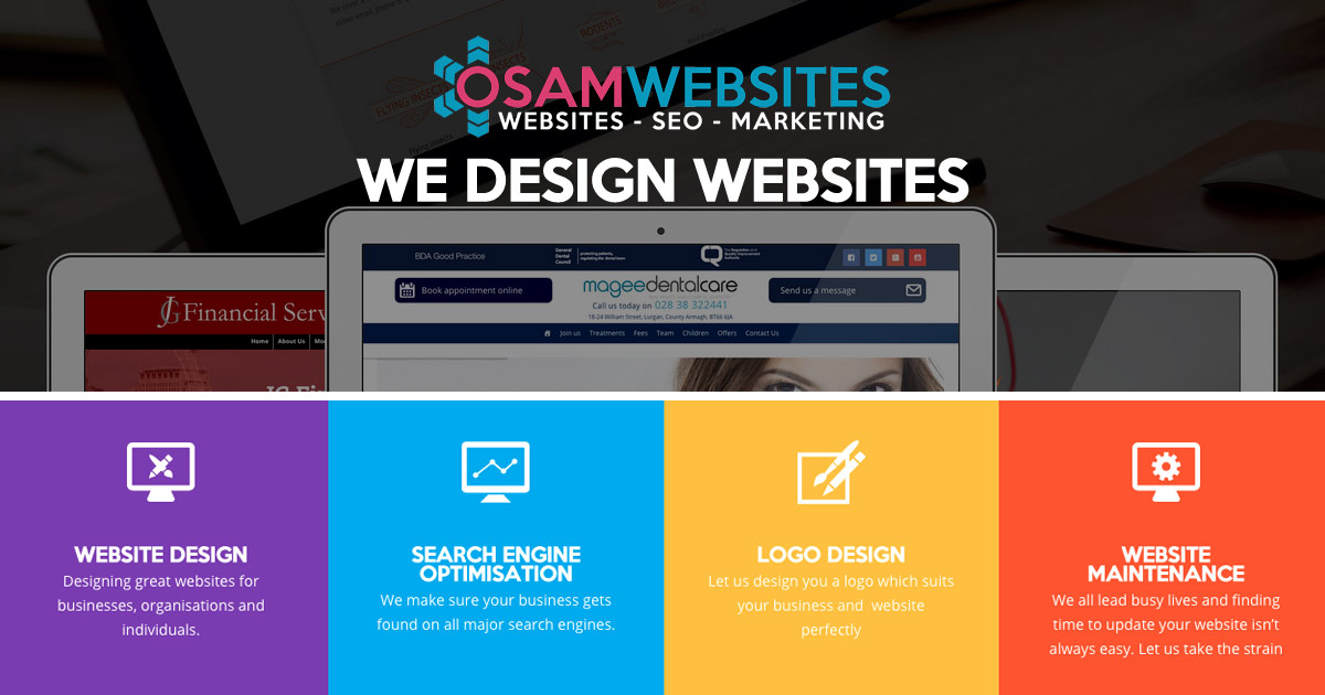 Website Design Shoreham by Sea - OSAM Websites Shoreham by Sea, West Sussex