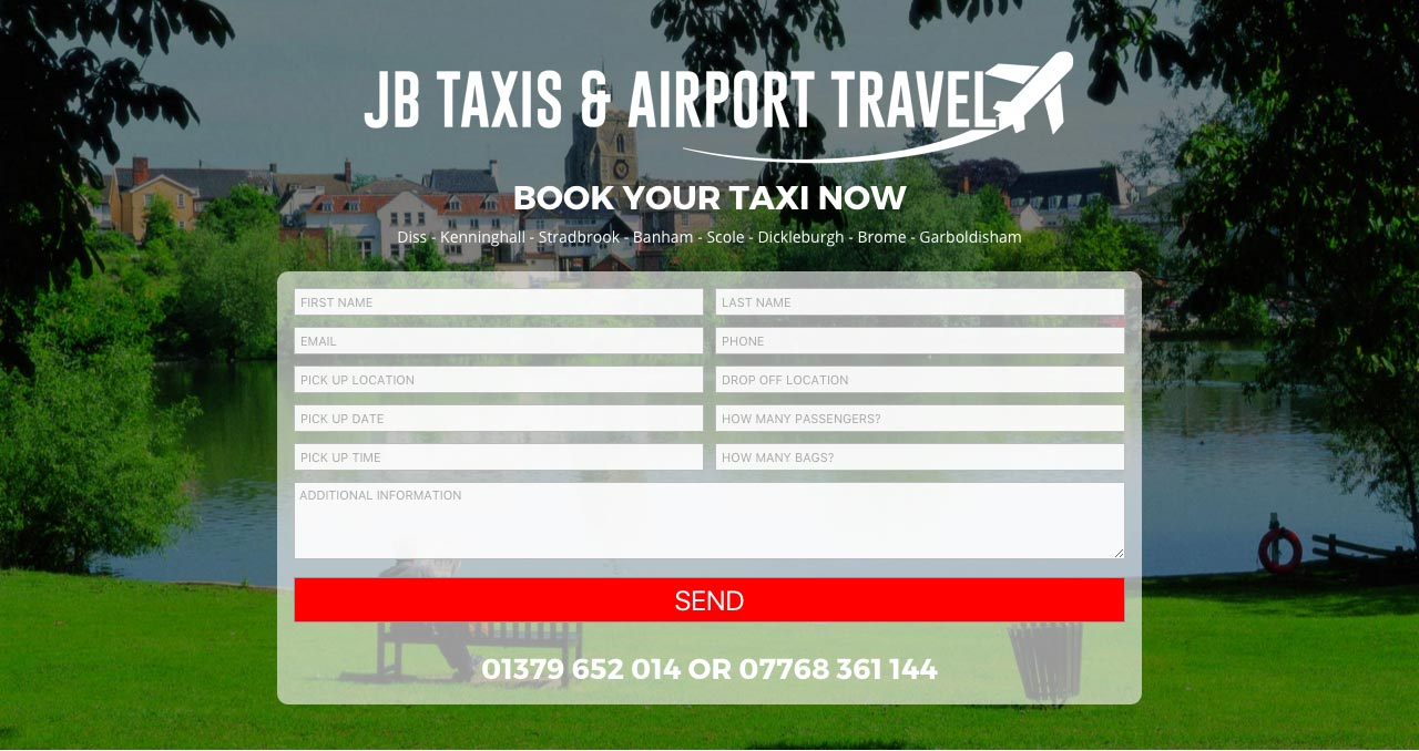 jb taxis and airport travel featured osam websites website jb taxis and airport travel featured