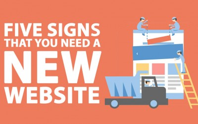 FIVE SIGNS THAT YOU NEED A NEW WEBSITE